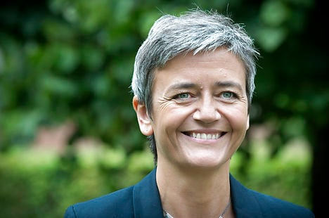 Vestager gets influential competition post