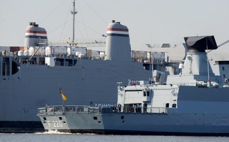 Syrian chemical weapons residue docks in Bremen