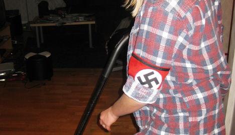 Swastika candidate leaves home help job