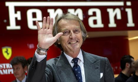 €27 million payout for outgoing Ferrari boss