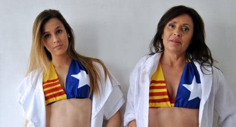 Catalan flag bras spice up independence bid