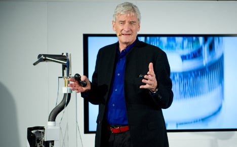 Dyson picks fight with German industry