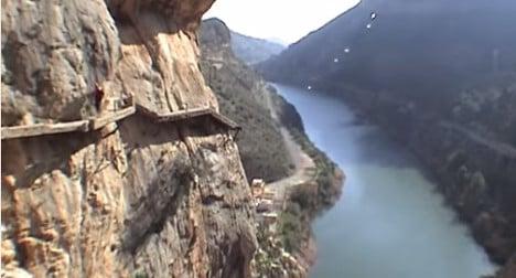 Spain to reopen 'world's most dangerous walk'