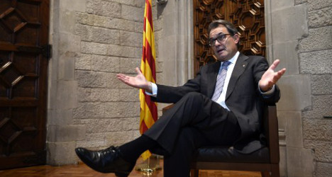 'Catalans can't be stopped from voting'