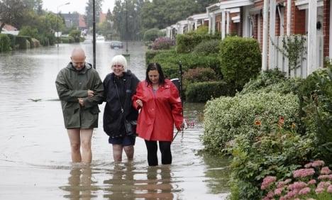 Malmö floods cause insurance headache