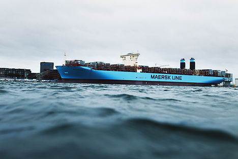 Maersk ship rescues 352 refugees at sea