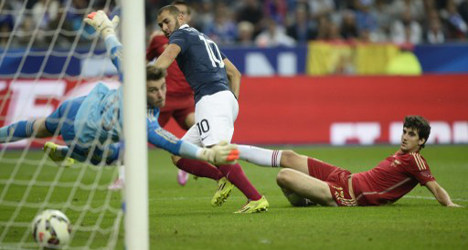 New look Spain falls short against France