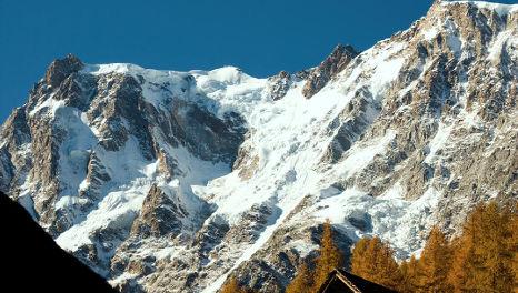 Italian climber killed in Swiss Alps