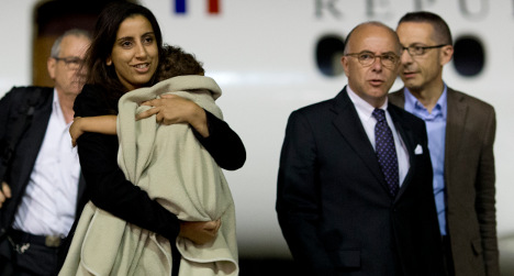 French mum united with 'kidnapped' daughter