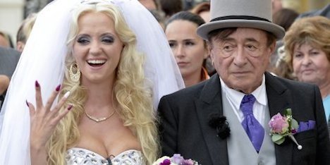 81-year-old billionaire marries 24-year-old