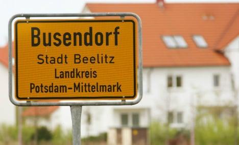 Ten German place names that make us giggle