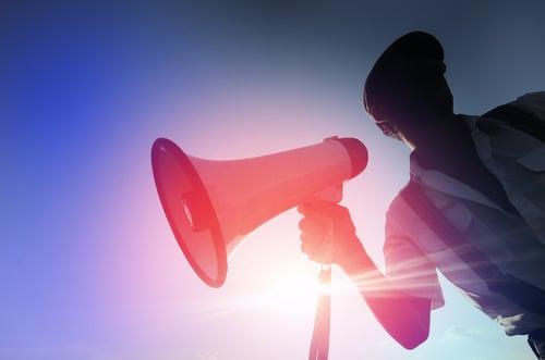 Dealers used megaphone to advertise drugs
