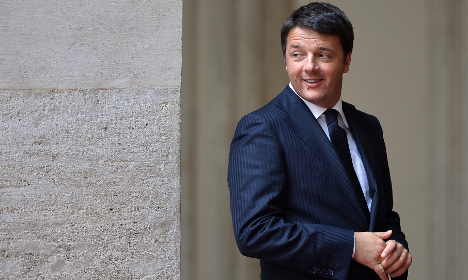 'Germany is a model for Italy': Renzi