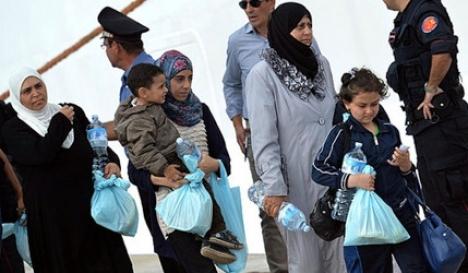 Police nab 56 refugees inside Austria