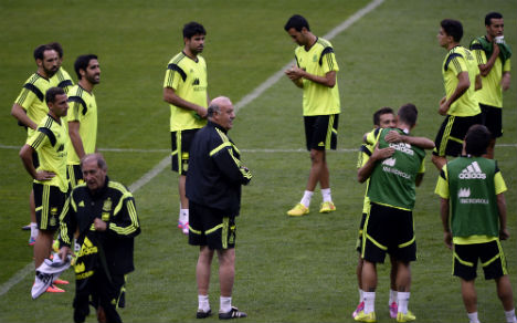 Spain aim to get back to winning ways