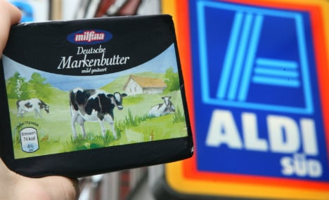 German milk cups flow over after Russia ban