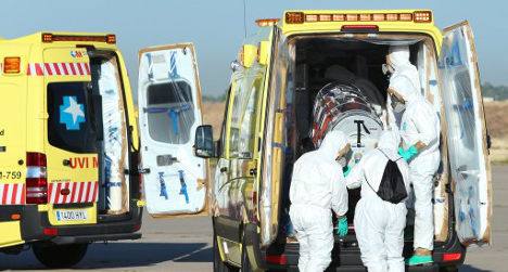 Two new possible Ebola cases hit Spain