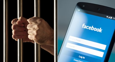 French inmate shows off drug stash on Facebook