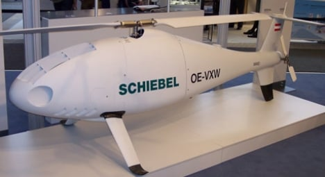Austrian drones watch over Ukraine ceasefire