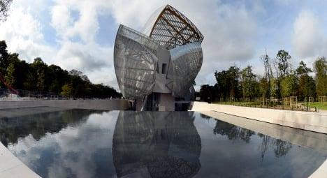 'Glass ship' Vuitton museum opens in Paris