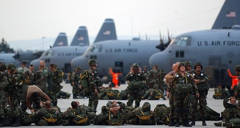 Uproar over US troops' Ebola quarantine in Italy