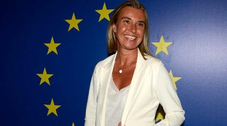 Renzi fights for female FM as Mogherini resigns