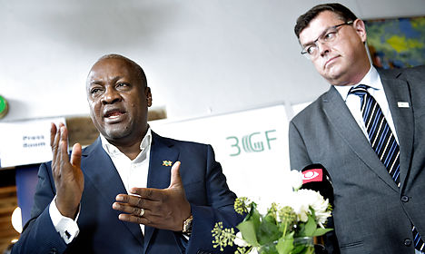 Denmark adds to its Ebola contributions