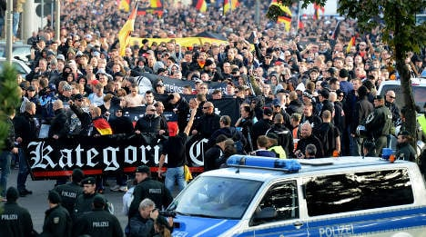 Hooligans want to march in Berlin and Hamburg