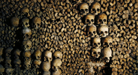 Paris Catacombs still draw thousands