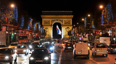 Paris traffic jams will become world's costliest