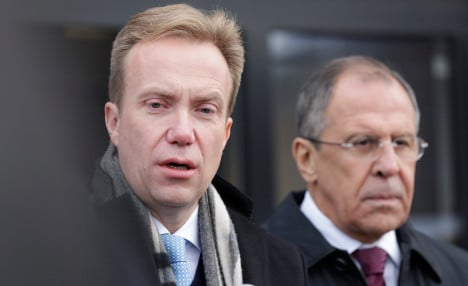 Russia-Norway tensions at liberation ceremony