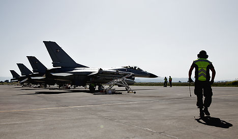 Danish F-16s confronted Russian military jet