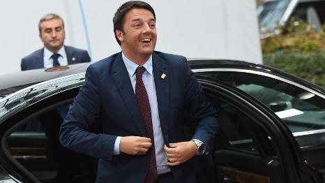 Renzi vows to publish cost of EU 'palaces'