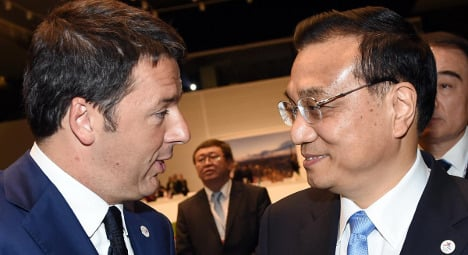 China brings business to crisis-hit Italy
