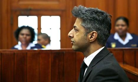 Cape Town 'fixer' phoned Dewani before killing