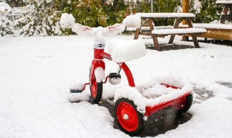 Sweden braces for ten centimetres of snow