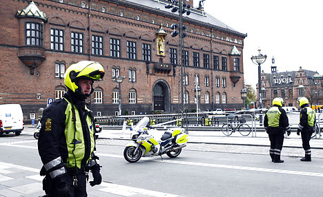 Bomb threat reported at Copenhagen City Hall