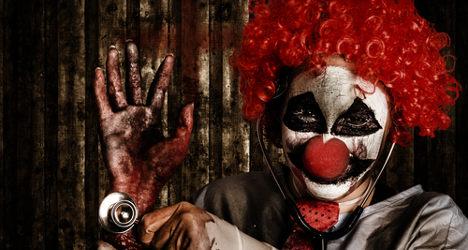 'Scary clown' craze hits Spanish city
