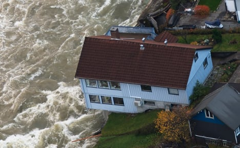 Severe flooding hits western Norway