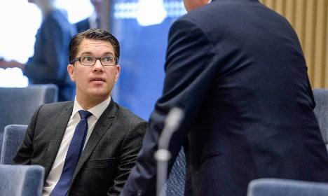 Extremist saves Sweden Democrats' EU group