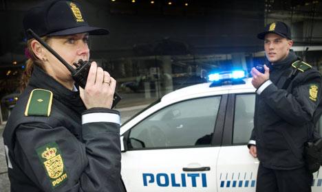 Two Copenhagen men arrested with explosives