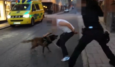 Dog attack policewoman acquitted on appeal