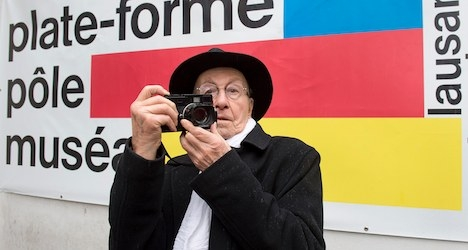 Celebrated Swiss portrait photographer dies