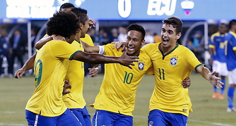 Brazil v. Austria tickets sell out fast