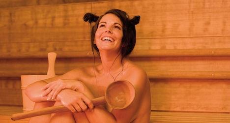 Frisky Slovak lashes out after sauna ejection