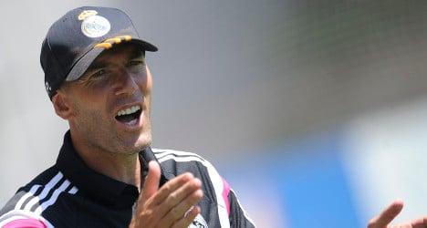 Real Madrid to appeal Zidane coaching ban