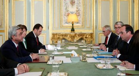 France tries to settle Karabakh dispute