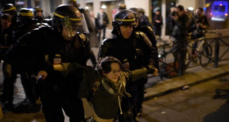 Dozens arrested after clash over dead protester