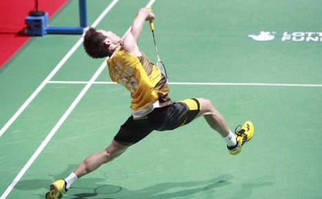 Badminton ace heads to Norway for drug test