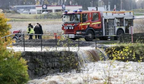 Swedish town 'like Venice' after heavy rains